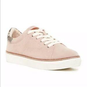 Liebeskind Shoes - Liebeskind Berlin Pink Suede Snake Sneakers